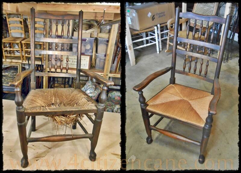 Rush Chair Repair Orange County Ca And Beyond Cane Chair